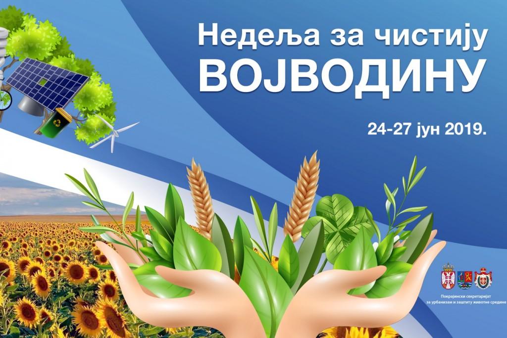 Nedelja za cistiju Vojvodinu Logo